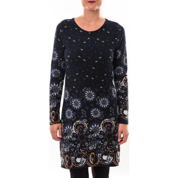textil Mujer Vestidos cortos Barcelona Moda Robe pull 71565003 marine Azul
