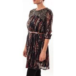 textil Mujer Vestidos cortos Barcelona Moda Robe 71525014 noir Negro