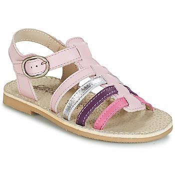 Zapatos Niña Sandalias Citrouille et Compagnie JASMA Rosa / Violeta
