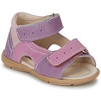 Zapatos Niña Sandalias Citrouille et Compagnie KIMMY G Lilas / Violeta / NUDE