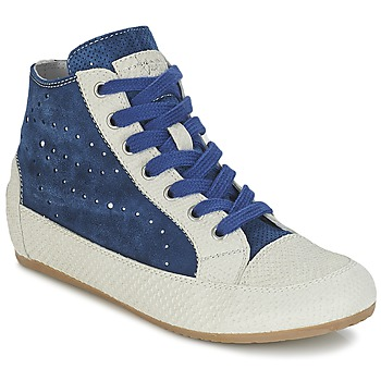 Zapatos Mujer Zapatillas altas Tosca Blu CITRINO Marino