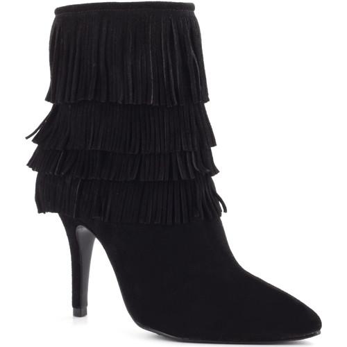 Zapatos Mujer Botines Schutz Botines Franjas negro
