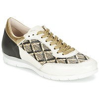 Zapatos Mujer Zapatillas bajas Mjus FORCE Negro / Blanco / Dorado