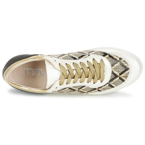 Los zapatos más populares para hombres y mujeres Zapatos especiales Mjus FORCE Negro / Blanco / Dorado