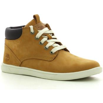 Zapatos Niño Zapatillas altas Timberland Grvtn Ek Ltr Chk Whe Wheat