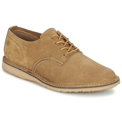 Zapatos Hombre Derbie Red Wing OXFORD Beige