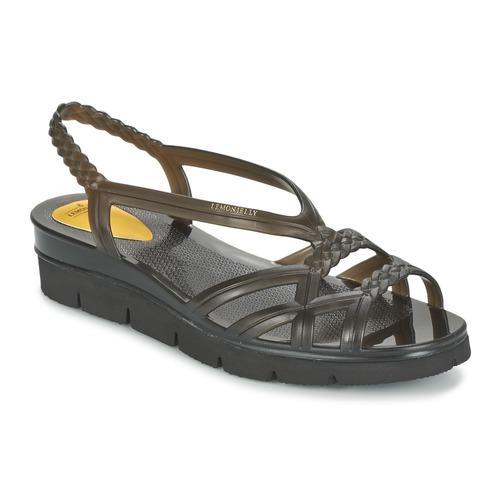 Zapatos Mujer Sandalias Lemon Jelly MIAKI Negro