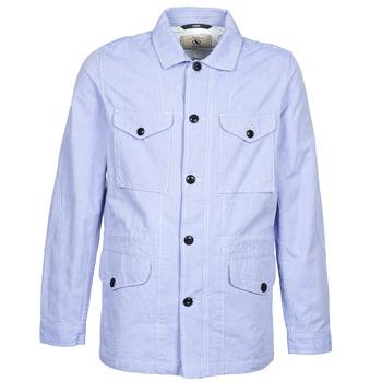 textil Hombre parkas Aigle STONEFISH Azul