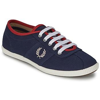 Zapatos Mujer Zapatillas bajas Fred Perry HAYES CANVAS Azul