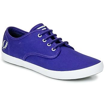 Zapatos Hombre Zapatillas bajas Fred Perry FOXX TWILL Violeta