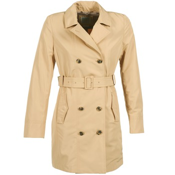 textil Mujer trench Geox LAURA Beige