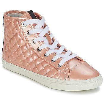Zapatos Mujer Zapatillas altas Geox NEW CLUB A Melocotón