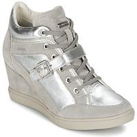 Zapatos Mujer Zapatillas altas Geox ELENI C Plateado