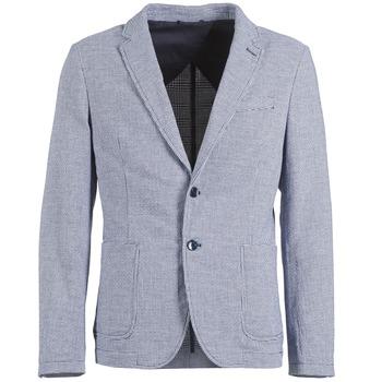 textil Hombre Chaquetas / Americana Benetton CHEVOTU Azul