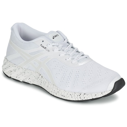 Zapatos Hombre Running / trail Asics FUZE X LYTE WHITE NOISE PACK Blanco / Plateado
