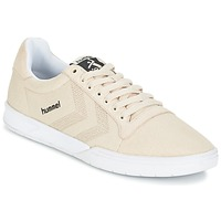Zapatos Zapatillas bajas Hummel HML STADIL CANVAS LO Crema