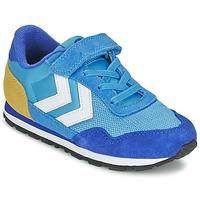 Zapatos Niños Zapatillas bajas Hummel REFLEX JR Azul