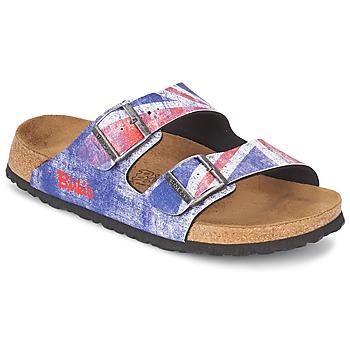 Zapatos Hombre Zuecos (Mules) Birki's SANTIAGO Flag / Union / Jack
