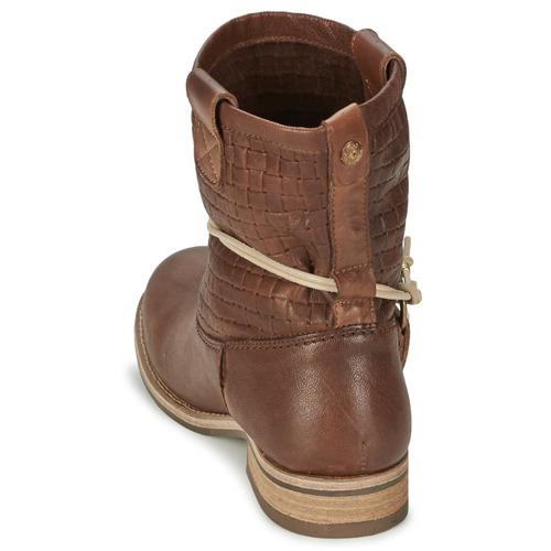 Marrón Zapatos Mujer Koah Botas De Baja Dania Caña OkX8nw0P