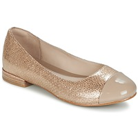 Zapatos Mujer Bailarinas-manoletinas Clarks FESTIVAL GOLD Champaña