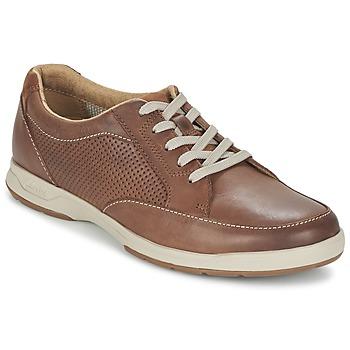 Zapatos Hombre Zapatillas bajas Clarks STAFFORD PARK5 Marrón