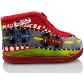 Zapatos Niño Pantuflas para bebé Vulladi ES F1 IR POR CASA ROJO