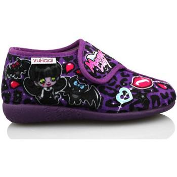 Zapatos Niña Pantuflas Vulladi ALASKA DE IR POR CASA MORADO