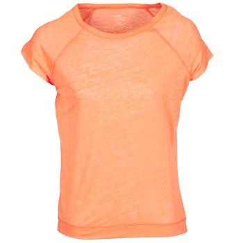 textil Mujer camisetas manga corta Majestic 2105 Naranja / Fluo