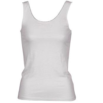 textil Mujer camisetas sin mangas Majestic 701 Blanco