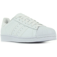 Zapatos Mujer Zapatillas bajas adidas Originals Superstar Foundation blanc