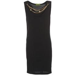 textil Mujer vestidos cortos Versace Jeans NDM931 Negro