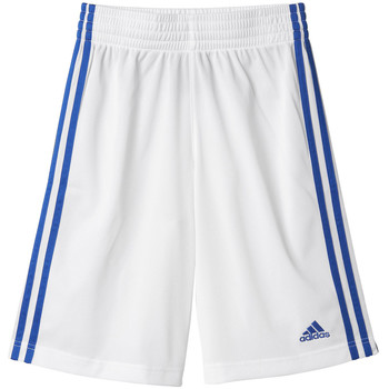 textil Niños Shorts / Bermudas adidas Performance Short Commander Junior Blanco