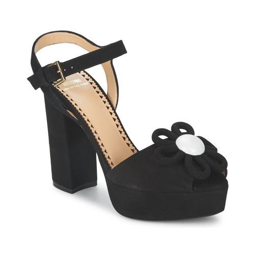 Zapatos promocionales Moschino Cheap & CHIC CA1617 Negro  Cómodo y bien parecido
