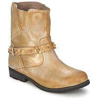 Zapatos Mujer Botas de caña baja Moschino Cheap & CHIC CA21013 Oro