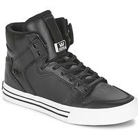 Zapatos Zapatillas altas Supra VAIDER CLASSIC Negro / Blanco