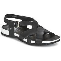Zapatos Hombre Sandalias Panama Jack FALCON Negro