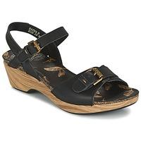 Zapatos Mujer Sandalias Panama Jack LAURA Negro