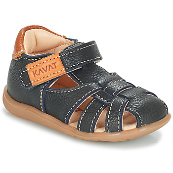 Zapatos Niños Sandalias Kavat RULLSAND Azul / Marino