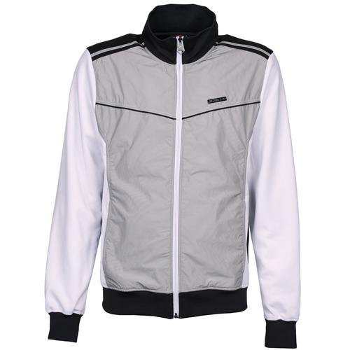 textil Hombre chaquetas de deporte Airness GRIFFIN Gris / Blanco