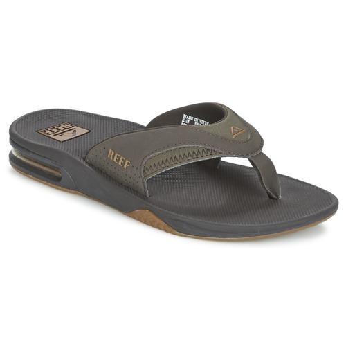 Reef FANNING Marrón - Envío gratis | ! - Zapatos Chanclas Hombre