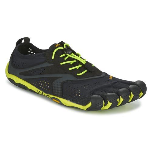 Zapatos especiales para hombres y mujeres Vibram Fivefingers BIKILA EVO 2 Negro / Amarillo