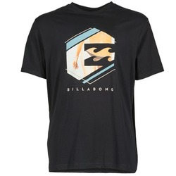 textil Hombre camisetas manga corta Billabong HEXAG SS Negro