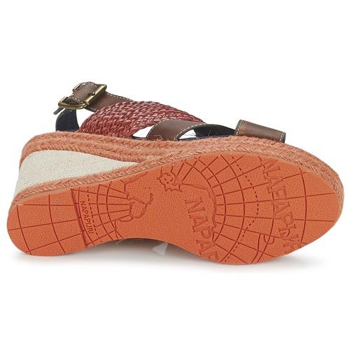 MarrónRojo Zapatos Belle Napapijri Sandalias Mujer 4Rj3q5cAL