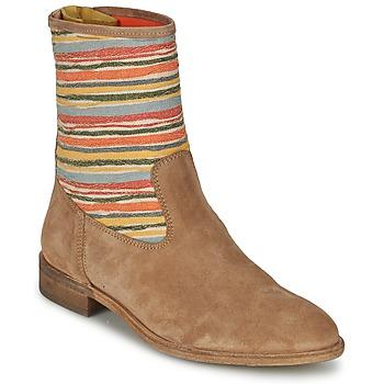 Zapatos Mujer Botas de caña baja Goldmud COLON Topotea / Multicolor