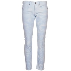 textil Mujer pantalones con 5 bolsillos Roxy SUNTRIPPERS TIE-DYE Azul