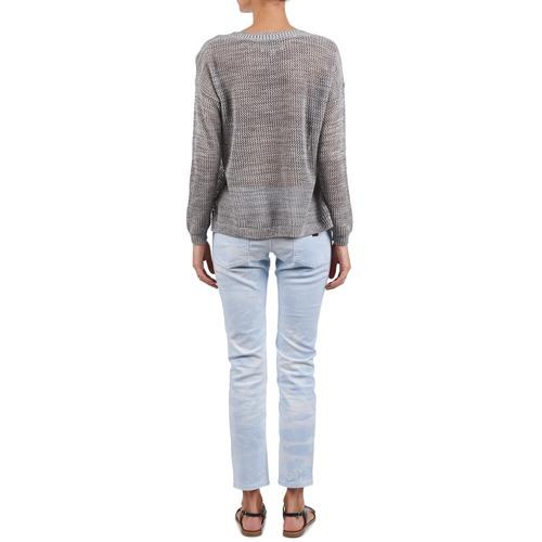 Azul Roxy 5 Mujer Bolsillos Con Pantalones Textil Tie dye Suntrippers 1ulKc3JTF