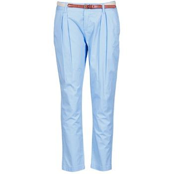 textil Mujer pantalones chinos La City PANTBASIC Azul