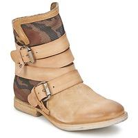Zapatos Mujer Botas de caña baja Airstep / A.S.98 TRIP METAL NUDO-MILITAR-NATURAL