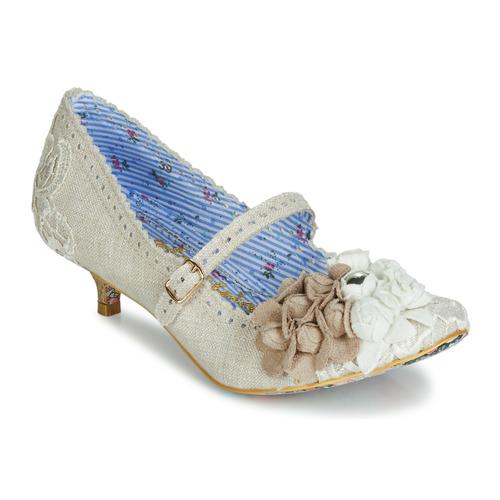 Nuevos zapatos para hombres y mujeres, descuento por tiempo limitado Irregular Choice DAISY DAYZ Beige / Multicolor - Envío gratis Nueva promoción - Zapatos Zapatos de tacón Mujer  Beige / Multicolor
