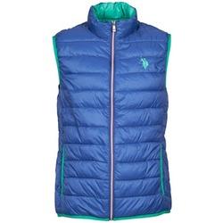 textil Hombre plumas U.S Polo Assn. USPA LT PADDED VEST Azul